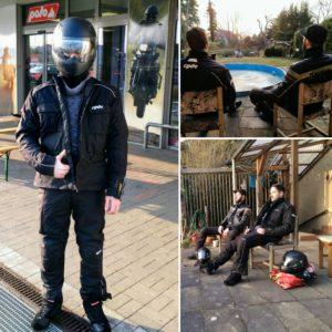 Projekt Moped - Klamotten gekauft und erste Fahrstunden offroad
